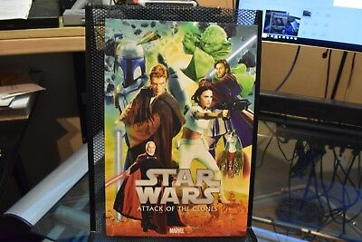 Star Wars Episode III Revenge of the Sith Marvel Deluxe OHC Hardcover Jedi