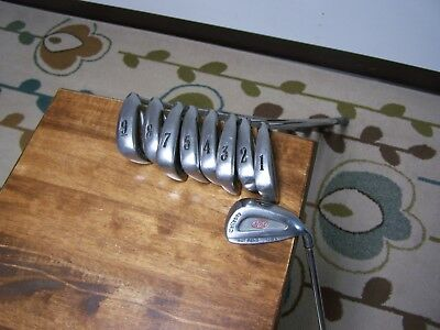 "CALLAWAY s2h2 IRON SET 1-5, 7-PW NO 6 IRON STEEL SHAFT MEMPHIS ""10"" ALL ORIGINAL"