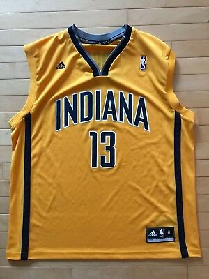 4f916029 ADIDAS NBA JERSEY Indiana Pacers Paul George Gold sz M - $29.99 ...