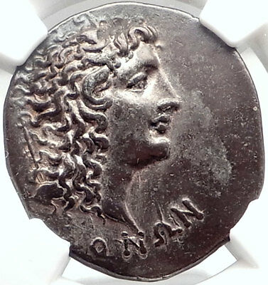 ALEXANDER III the GREAT Silver Greek Tetradrachm Coin ROMAN MACEDONIA NGC i75034