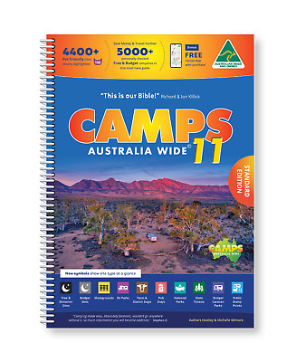 New 2019 Camps Australia Wide10 A4 Spiral Bound Book New (Camps10)