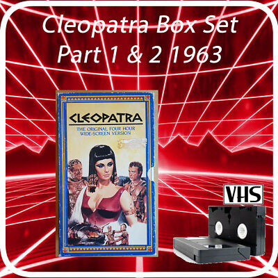Cleopatra Box Set 2 Tapes on VHS 240 Hours of Retro Episodes.