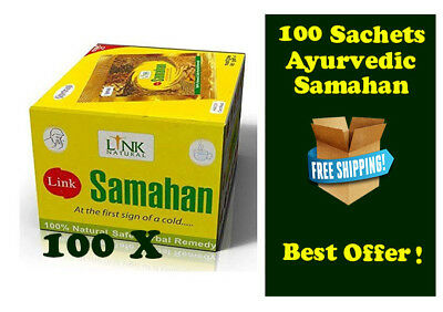 100 pkt  Link Samahan Natural Ayurvedic Herbal tea for cold remedy