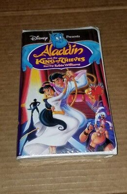 Disney Aladdin and the King of Thieves (VHS, 1996) Brand New rare