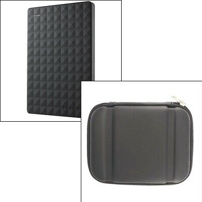 Seagate 2TB Expansion Portable Hard Drive & Case