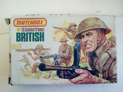 matchbox 15 combat soldiers 1/72 scale