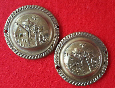 Antique Brass DOORKNOB Decorative Covers Hotel-Residents Cottage rustic Other