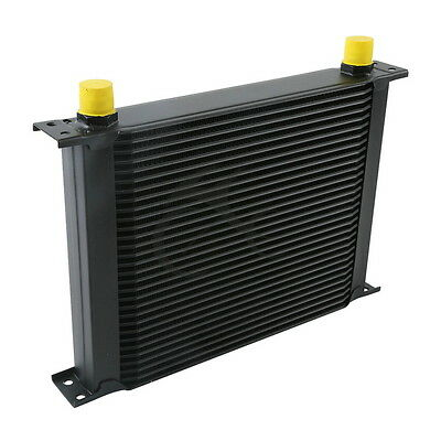 New Black Universal 30 Row An-10An Engine Transmission Racing Oil Cooler British