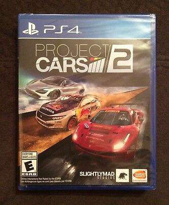 NEW Project Cars 2 PS4 PlayStation 4 Car Racing Race Simulator Create Everyone