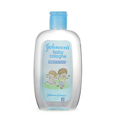 JOHNSON'S BABY COLOGNE Mild Scent Fresh Happy Berries 100ml/3.4oz
