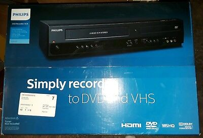 Philips DVDR3385V/F7 DVD RECORDER VCR Player NIB NEVER OPENED/Unused