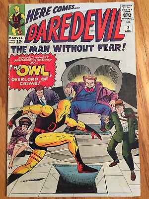Daredevil #3- Early Silver-Age Marvel (Aug 1964)