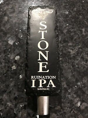 Stone Ruination IPA Indian Pale Ale Beer Tap Handle Man Cave