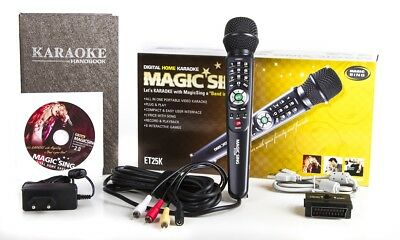 ET25K 5145 PINOY OPM Tagalog & English Songs Magic Sing Karaoke MIC microphone