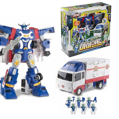 Hello Carbot IRONT Korean Animation Transforming Robot Toy Engineer Figure