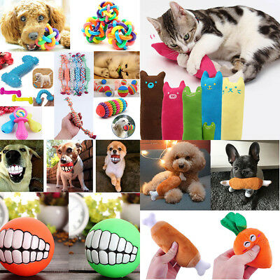 Pet Dog Soft Chew Toy Puppy Doggy Plush Sound Eggplant Carrot Squeaker Toys