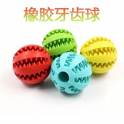 Rubber Cleaning teeth ball Puzzle dog molar Watermelon rubber pet toy ball~HA5