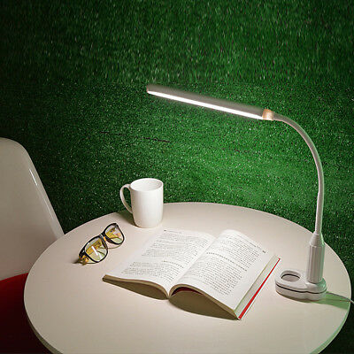 5W USB Clip-On Desk Lamp 24LEDS Flexible Reading light Dimmable Table Touch Lamp