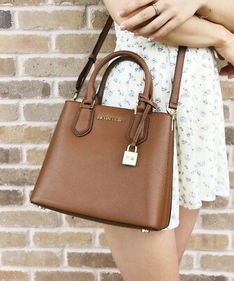e9e207d5a72ca5 MICHAEL KORS TASCHE/BAG ADELE MD MESSENGER Leather Leder blossom ...