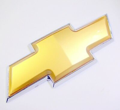 New 07-11 Chevy Tahoe Silverado Rear Tailgate Gold Bowtie Emblem Badge Liftgate