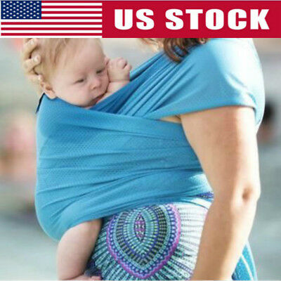 Baby Sling Stretchy Adjustable Wrap Carrier Newborn Infant Breastfeeding Cover