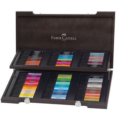 Faber-Castell Artist Quality India ink Pitt Artist Pen Woodcase Gift Set of 90