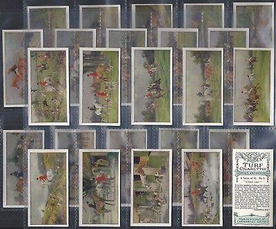 Carreras-Full Set- Horses & Hounds (25 Cards) - Exc+++