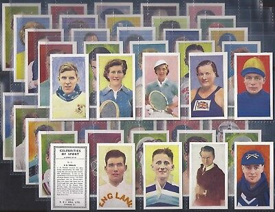 Hill (Rj)-Full Set- Celebrities Of Sport (Hill Name 50 Cards) - Exc+++