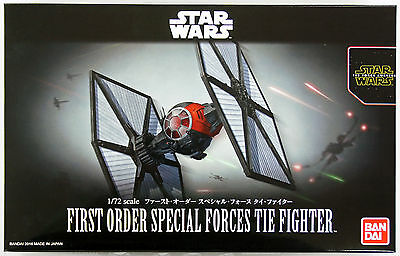 Bandai Star Wars First Order Forze Speciali Tie Fighter 1/72 Kit 032199
