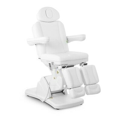 Professional Podiatry Chair Pedicure Beauty Bed Foot Spa Electric LA PAZ White