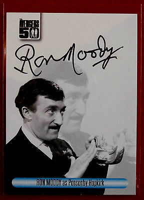 THE AVENGERS 50th - RON MOODY as Ponsonby-Hopkirk - Autograph Card AVRM