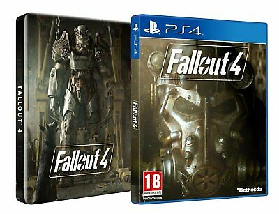 Fallout 4 Steelbook Edition with Game and Postcards PS4 New & Sealed