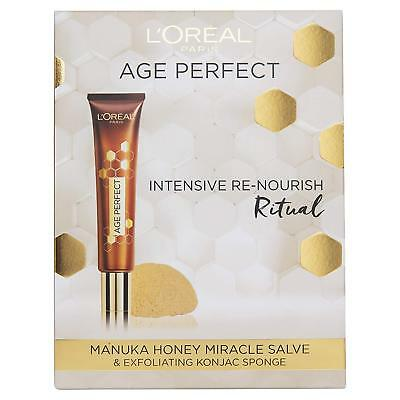 L'Oreal Paris Age Perfect Intensive Re-Nourish Manuka Gift For Her 40ml