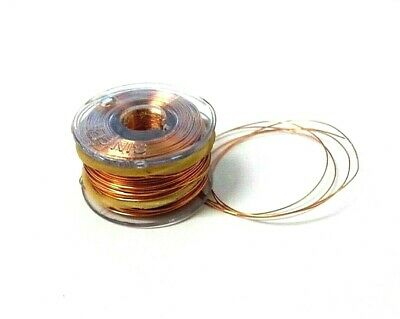 Pencil wire. 0.19mm. Insulated. Natural. 32 Metres. Enamelled. *Top Quality!