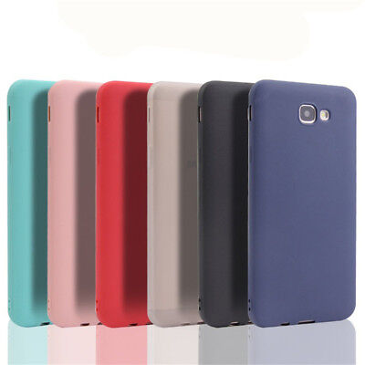 For Samsung Galaxy J7 Prime Slim Silicone Rubber Frosted Soft TPU Cover Case