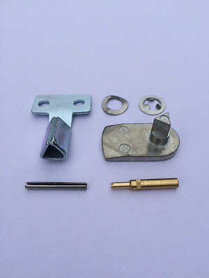 GAS / ELECTRIC METER BOX REPAIR KIT - Full Metal Latch, Metal Key, Hinges