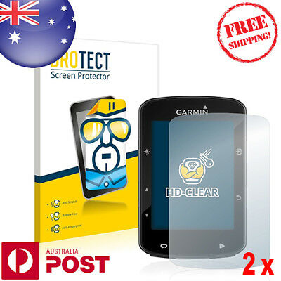 2x BROTECT® HD-Clear Screen Protector for Garmin Edge 520 Plus - P028AF