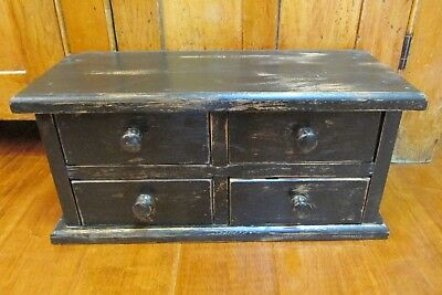 Primitive Style Wooden Cabinet, Country, Farm House