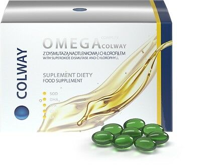 Colway Natural complex Omega 3-6-9 Heart Brain Nervous system 60 capsules %