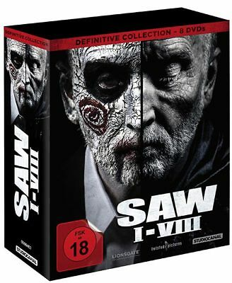 SAW I-VIII - 1-8 Definitive Collection (8DVDs) - Vorbestellung