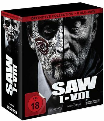 SAW I-VIII - 1-8 Definitive Collection (8Blu-Rays) - Vorbestellung