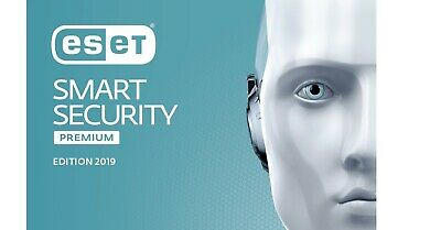 ESET Smart Security Premium 2019, 1-3 PCs, 1 Jahr /2 Jahre Internet Security Key