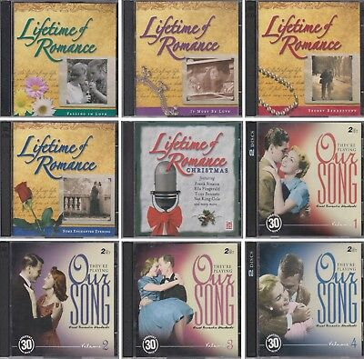 TIME LIFE Lifetime of Romance HEARTLAND MUSIC They're Playing Our Song 17 CD Lot