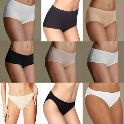 M&S Multipack 5 Pairs Microfibre Full Brief High Leg Midi Shorts Knickers Briefs