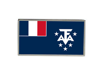 French Southern and Antarctic Lands Flag Lapel Pin Badge