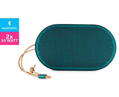B&O Beoplay P2 Portable Bluetooth Speaker - Teal