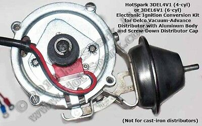 Electronic Ignition Conversion 1968 Chevrolet Corvair Monza 6 Cyl 2.7L - 3DEL6V1
