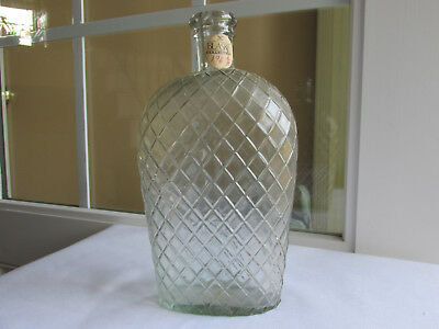Blaske Collection Quart Quilted Whiskey Flask No Problems