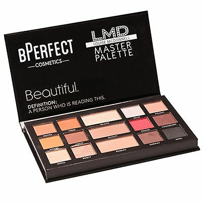 BPerfect LMD Master Palette MUA Louise McDonnell Makeup Collection