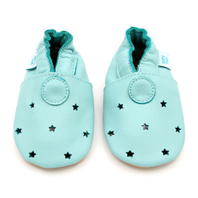 *DISCONTINUED* Dotty Fish Soft Leather Baby Toddler Infant Walking Pram Shoes